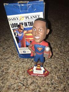 Dwight Howard Superman Slam Drunk Champion Bobble Head New In Box