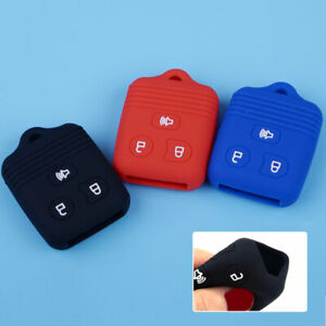 3 Buttons Car Fob Remote Case Key Cover Fit for Ford Mercury Lincoln Mazda
