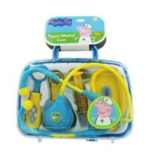 Peppa Pig Medical Case Doctors Nurses Pretend Toy Play Set 6 Pieces Kids Gift