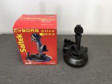 Saitek Cyborg 2000 (J18) 4-Button Analog Stick with Hat Computer Controller