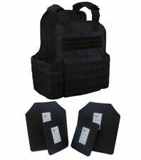 Tactical Scorpion Gear AR500 Level III+ Body Armor - Black