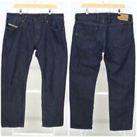 Mens Diesel Waykee Wash 0088Z Jeans Denim Blue Straight Regular Size W36 / L32