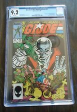 "1984 Marvel G.I. Joe comic book. #22 CGC grade 9.2 "" A Real American Hero """