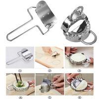 Stainless Steel Dumpling Maker Mould or Wraper Dough Presser Kitchen Gadget Tool