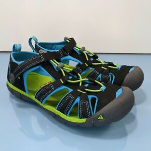 KEEN Big Kid's Youth Sz 5 Seacamp II CNX 1016434 Washable Water Hiking Sandals