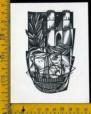 Ex Libris Originale Alexandro Radulescu c 103