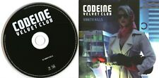 CODEINE VELVET CLUB - Vanity Kills - (1 Track Promo CD) - 2009 Indie Rock