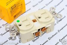 1pcs - HUBBELL HBL8200I 15A 125V NEMA 5-15 Hosptial Duplex Receptacle Outlet
