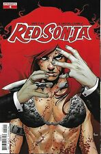 Red Sonja Comic Issue 4 Modern Age First Print 2017 Amy Chu Carlos Gomez Mohan