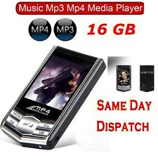 0.916GB MP3 MP4 4TH GENERATION SLIM MUSIC MEDIA PLAYER LCD SCREEN FM MOVIE VIDEO