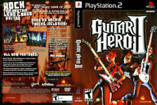 Guitar Hero II Sony PlayStation 2 PS2 Case Artwork and Game Disc