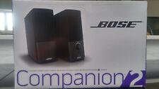 BOSE Companion 2 Serie III Multimedia-Lautsprecher - Schwarz (3544952100)