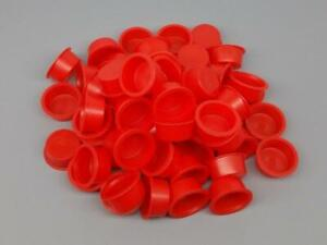 """100pc 1"""" Plastic Fireworks Plugs End Caps For Pyro Cardboard Tubes Salute"""