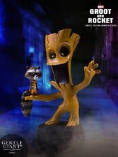 Gentle Giant Marvel Animated Guardians of the Galaxy Groot and Rocket Statue New
