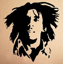 Bob Marley Rasta Wall Decal Sticker Vinyl Art Fan Art Decal Home Decor Sticker