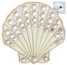 Bella Crystal Golf Ball Marker & Hat Clip Shell (Sand)