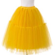 LK _ eg _ infantil mullido Mini faldas Tul Falda De Fiesta Danza Ballet enaguas