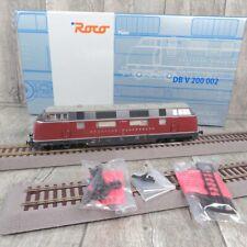 Roco 63930 - HO - Diesellok - V 200 002 - DB - DSS - Platin - OVP #S35768