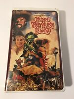 Muppet Treasure Island (VHS, 1996) Pre Owned
