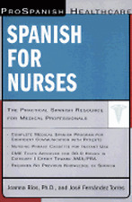 ProSpanish Healthcare Spanish for Nurses / Medical Spanish 2 Books + 3 Cassettes
