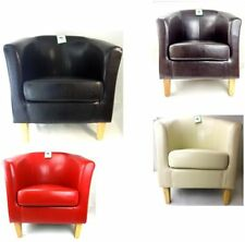 Faux Leather Bedroom Chairs