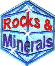 ROCKS & MINERALS Iron On Patch Outdoors