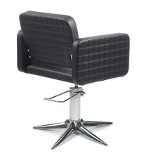 Salon Styling Chair Olma CPT Parrot Gamma & Bross Made In Italy Black
