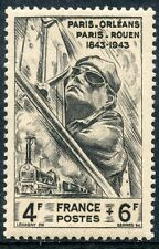 STAMP /  TIMBRE FRANCE NEUF N° 618 ** TRAIN / CHEMIN DE FER