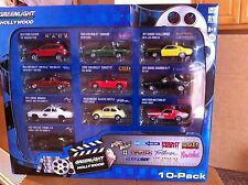 Greenlight Diecast Hollywood Collector 10 Pack 1:64