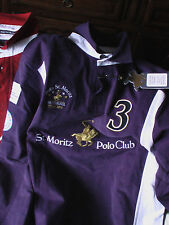 Polo Shirt St Moritz Polo Club Swiss  XXS NEW* joueur n°3
