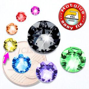 Swarovski Kristalle 2078 Hotfix SS20 (Strass-Steine zum Aufbügeln) Farbwahl