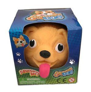 (You Pick) Dog Squishy Stress Relief Ball Pug Lab Bulldog or Corgi