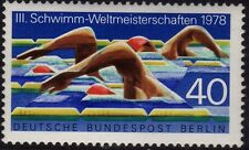 Germany Berlin 1978 Swimming SG B555 MNH