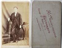 Mariescurrena Barcellona Spagna CDV di Carta Albume D'Uovo Vintage Ca 1865