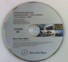 2012 UPDATE OEM MERCEDES BENZ NAVIGATION DVD - COMAND (MCS II)