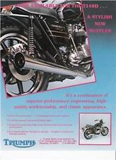 1979 Triumph T140 Bonneville Special optional exhaust