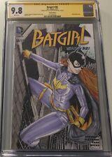 Batgirl #38 Blank Sketch Signed & Sketched by Alex Kotkin CGC 9.8 SS DC Comics