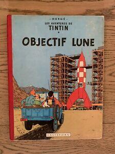 tintin objectif lune 1956