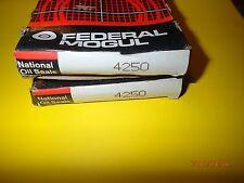 (2) NOS National Oil Seals, 4250 Wheel Seal