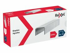 Pack of 5000 - Rexel Supreme Staples No. 50, Silver, Staple 50 sheets, Free P&P!