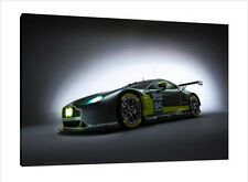 2016 Aston Martin V8 Vantage GTE - 30x20 Inch Canvas - Framed Picture Print