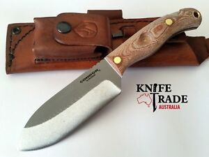 Condor Toki Knife + Leather Sheath CTK3920-4.7HC Survival Hunting Bushcraft Camp