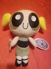 "The Powerpuff Girls Green Bubbles Girl 8"" Plush Stuffed Animal Toy Applause"