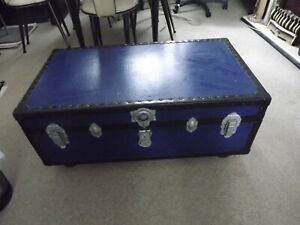 cabin trunk coffee table