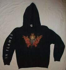 hoodie In Flames heavy metal band Arch Enemy Amon Amarth Slayer Opeth Insomnium