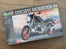 Revell 07923 - Ducati Monster S4 - 1/9 Scale Model Kit - Very Rare - No Decals