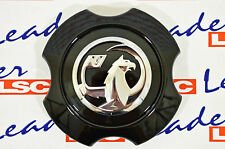 GENUINE Vauxhall CORSA D - ALLOY WHEEL CENTRE HUB / CAP BLACK- NEW GM - 13368243