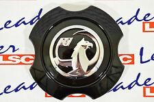 GENUINE Opel CORSA D LEICHTMETALLFELGE MITTENNABE/KAPPE schwarz - GM 13368243