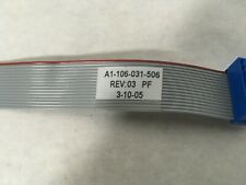 SIEMENS, A1-106-031-506, FLAT RIBBON CABLE, 6.5 INCHES LONG.