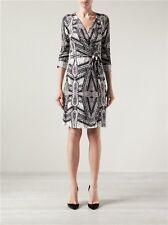 "NWT $398 Diane Von Furstenberg DVF ""New Julian Two"" Wrap Dress 4"